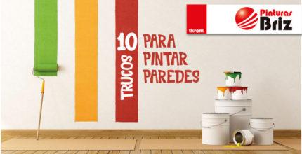 10 trucos para pintar paredes